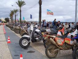 Our Harley Sidecar in Parc Ferme