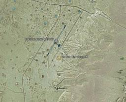 Satellite photo of Dakar 2006 bivouac